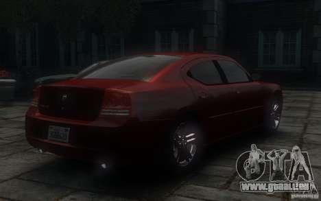 Dodge Charger RT Hemi 2008 für GTA 4 Rückansicht