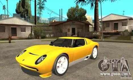 Lamborghini Miura Concept 2006 für GTA San Andreas