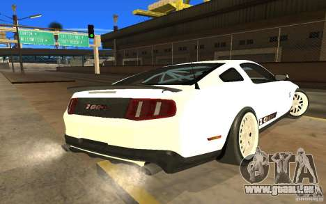 Shelby Mustang 1000 2012 für GTA San Andreas linke Ansicht