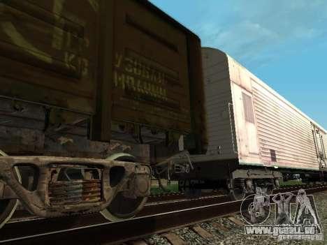 Refrežiratornyj wagon Dessau no 3 pour GTA San Andreas vue de droite