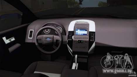 Ford Edge 2010 für GTA San Andreas rechten Ansicht