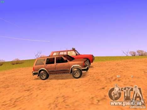 Huntley Superior für GTA San Andreas rechten Ansicht