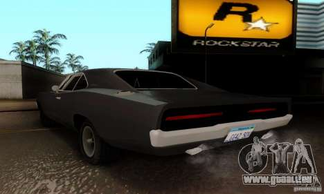 Dodge Charger RT für GTA San Andreas linke Ansicht