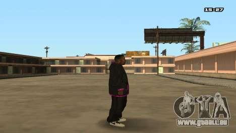 Skin Pack Ballas für GTA San Andreas fünften Screenshot