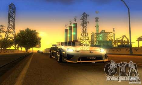 ENB Graphics by KINOman für GTA San Andreas fünften Screenshot