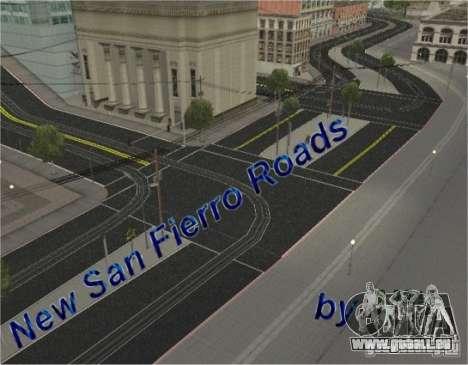 Nouvelle route, San Fierro pour GTA San Andreas