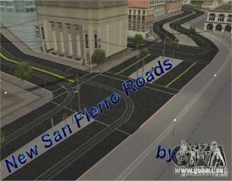 Neue Straße, San Fierro für GTA San Andreas