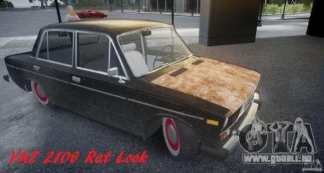 Vaz 2106 Rat look pour GTA 4