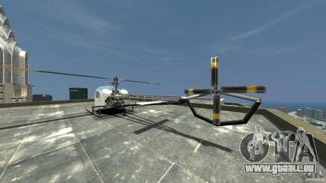 Sparrow pour GTA 4 Vue arrière de la gauche