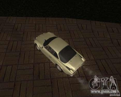 Renault Alpine 110 pour GTA San Andreas vue arrière