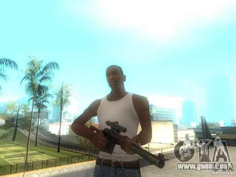 Gewehr VSS Vintorez für GTA San Andreas
