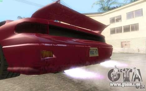 New Alpha pour GTA San Andreas vue intérieure