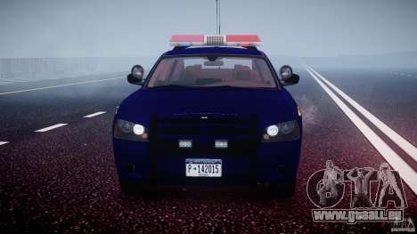Dodge Charger NY State Trooper CHGR-V2.1M [ELS] pour GTA 4 est une vue de dessous