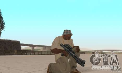 Pack armes de Star Wars pour GTA San Andreas huitième écran
