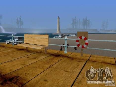Neue Strand Textur v2. 0 für GTA San Andreas zweiten Screenshot