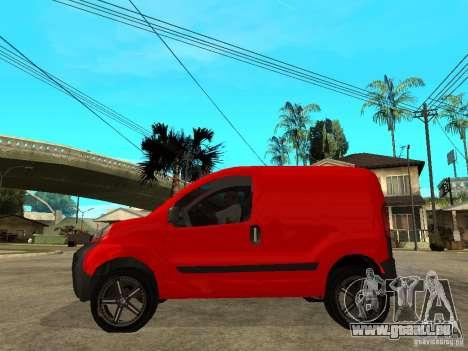 Fiat Fiorino Combi pour GTA San Andreas laissé vue