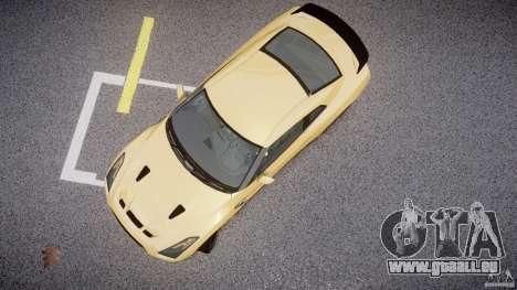 Nissan GTR R35 SpecV v1.0 pour GTA 4 Vue arrière