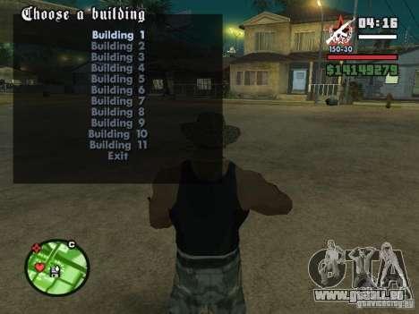 Bau der Häuser 2 für GTA San Andreas dritten Screenshot