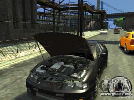 Nissan Skyline GT-R V-Spec (R33) 1997 pour GTA 4 est une vue de l'intérieur