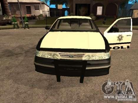 Ford Crown Victoria 1994 Police für GTA San Andreas rechten Ansicht