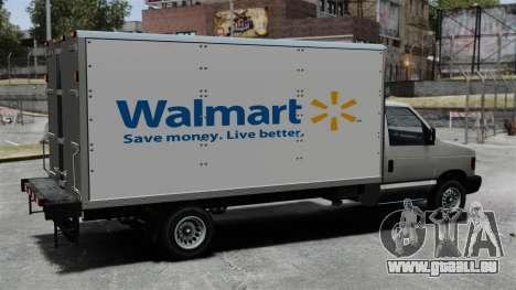 Die neue Werbung für LKW Steed für GTA 4 linke Ansicht