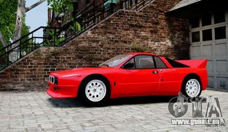 Lancia 037 Stradale für GTA 4 linke Ansicht