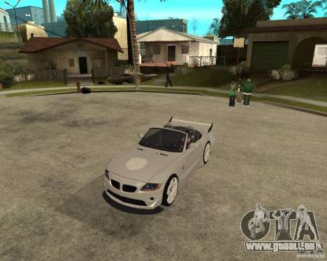 BMW Z4 Supreme Pimp TUNING volume II pour GTA San Andreas laissé vue
