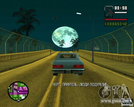 Lune pour GTA San Andreas