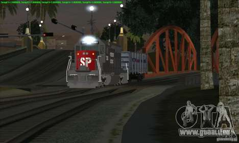 Augmentation de la circulation des trains pour GTA San Andreas