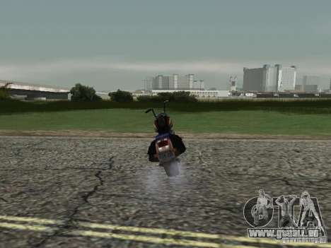 Ange de Vice City pour GTA San Andreas sur la vue arrière gauche