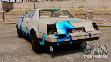 Rusty Sabre in der Lackierung, 69 für GTA 4 rechte Ansicht
