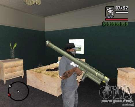 Fim-43 Redeye pour GTA San Andreas