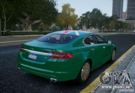 Jaguar XFR 2010 V.2.0 für GTA 4 linke Ansicht