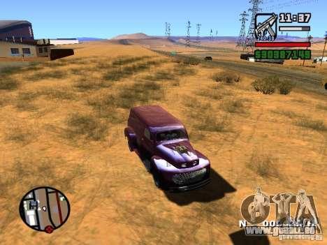 49 Ford HR Van pour GTA San Andreas vue de droite