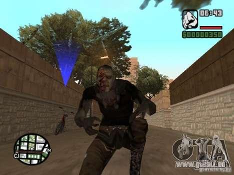 Zombe from Gothic pour GTA San Andreas troisième écran