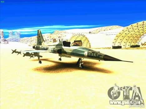 F-5E Tiger pour GTA San Andreas