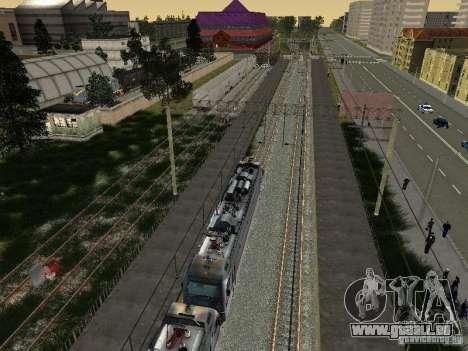 ÈP1M für GTA San Andreas Seitenansicht