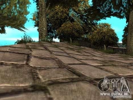 Stone Mountain pour GTA San Andreas quatrième écran