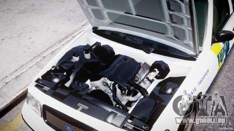 Ford Crown Victoria New Jersey State Police pour GTA 4 est un côté