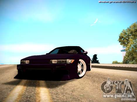 Nissan Silvia S13 Tandem Of DIE pour GTA San Andreas