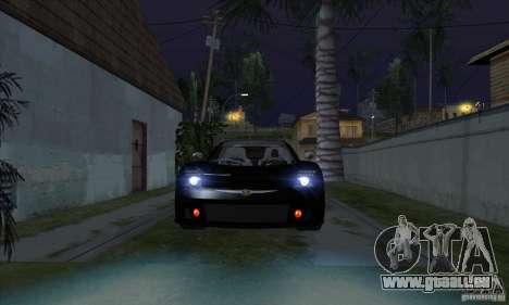 Lampes Xenon (phares xénon) pour GTA San Andreas troisième écran