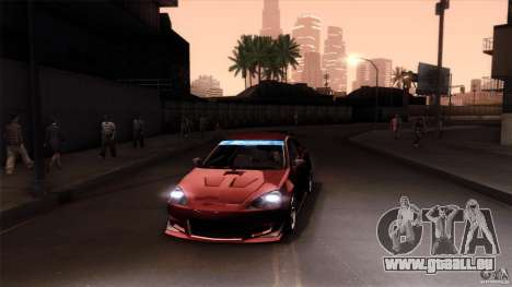 Acura RSX Spoon Sports pour GTA San Andreas moteur