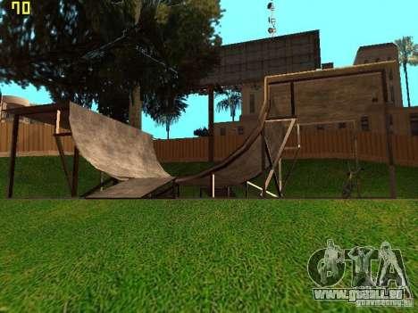 New SkatePark v2 pour GTA San Andreas quatrième écran