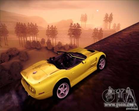Shelby Series One 1998 für GTA San Andreas Seitenansicht