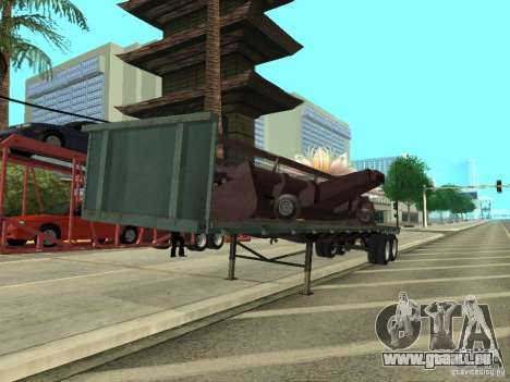 American Trailers Pack für GTA San Andreas linke Ansicht