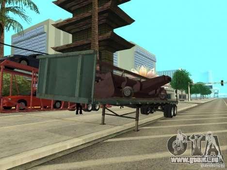 American Trailers Pack pour GTA San Andreas laissé vue