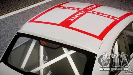 Fiat 500 Abarth pour GTA 4 vue de dessus
