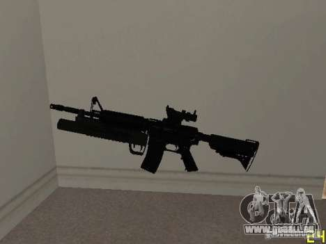 M4 MOD v4 für GTA San Andreas