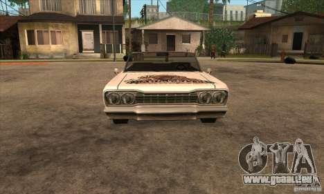 Peinture de savane pour GTA San Andreas sixième écran