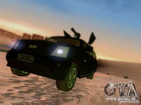 Suv Call Of Duty Modern Warfare 3 für GTA San Andreas Rückansicht